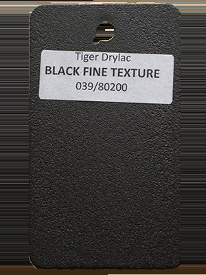 Black Fine Texture Powder Coating