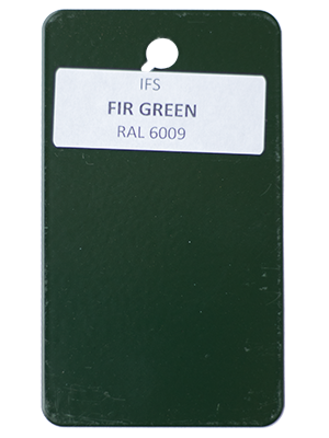 Fir Green Powder Coating