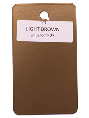 Light Brown Powder Coating