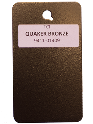 Quaker Bronze Powder Coating