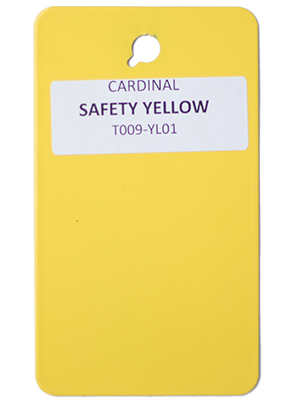 Safety Yellow Powder Coating