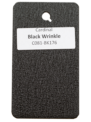 Black Wrinkle Powder Coating