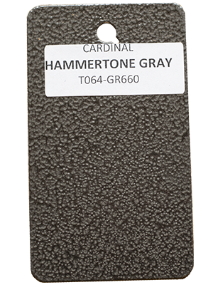 Hammertone Gray Powder Coating