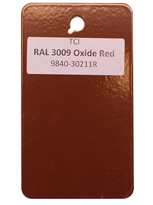 Oxide Red Powder Coating