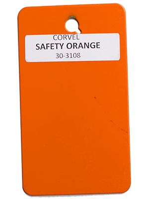 Safety Orange Powder Coating