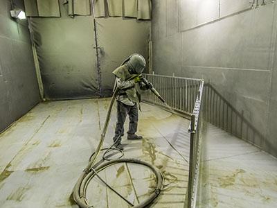 expert powder coating a fence in utah